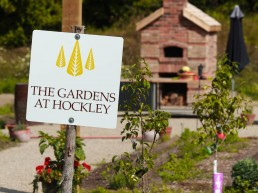 the garden at Hockley Valley Resort