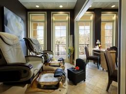 Manicure pedicure room